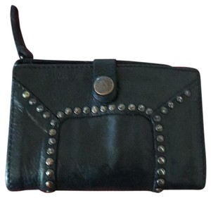 Campomaggi Flat wallet with studs