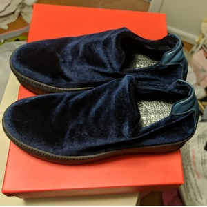 Barneys New York Navy Mules