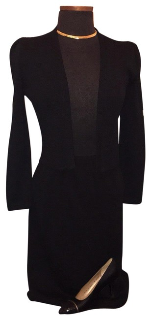 Item - Black Vintage Santana For I.magnin Skirt Suit Size 4 (S)