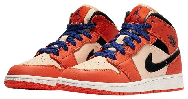 Item - Orange Limited Edition Men's Sneakers 1 Mid Se Team Boots/Booties Size US 8 Regular (M, B)