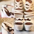 ALAA Cut Out Wedge White Sold Out Ivory Platforms Image 6