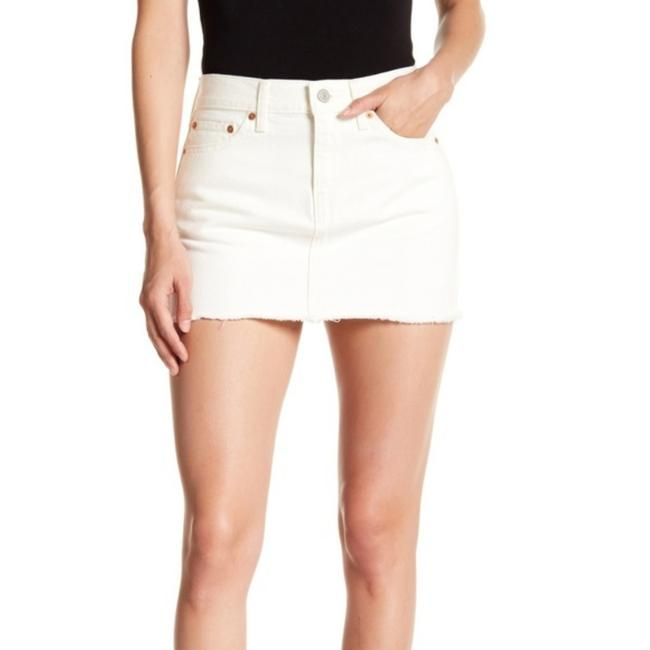 Levi's Mini Skirt White Image 0
