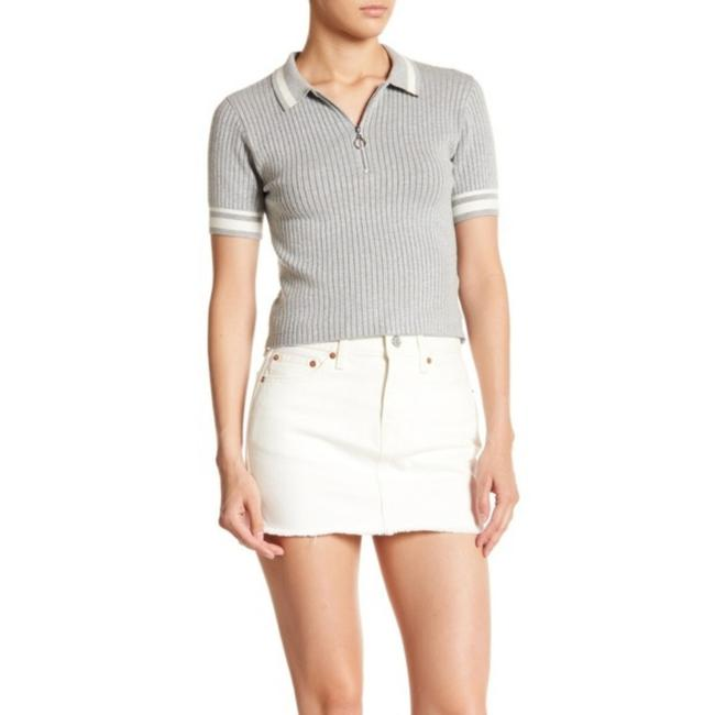 Levi's Mini Skirt White Image 2