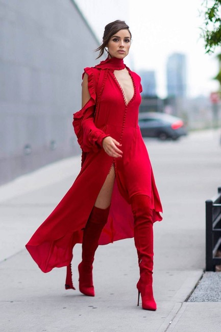 red Maxi Dress by Magda Butrym Image 3