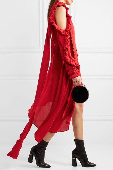 red Maxi Dress by Magda Butrym Image 6