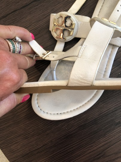 Tory Burch White Sandals Image 1