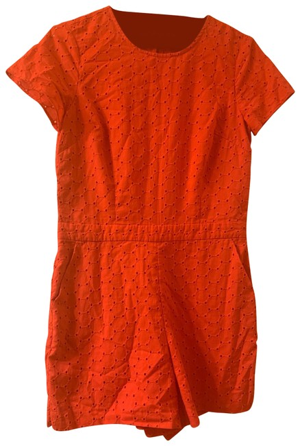 Preload https://img-static.tradesy.com/item/26030913/banana-republic-red-orange-eyelet-romperjumpsuit-0-1-650-650.jpg