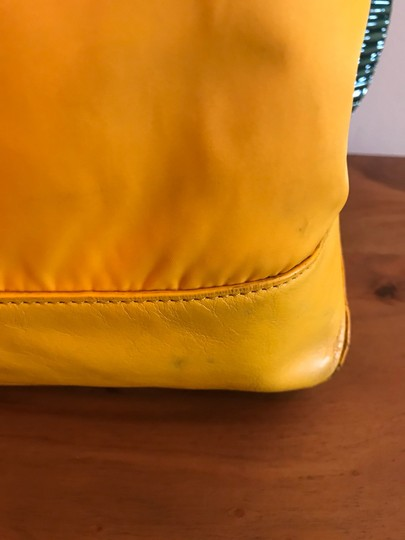 Tory Burch Extra Large Travel Work Value Tote in Yellow Image 3