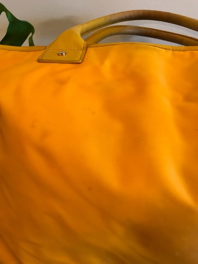 Tory Burch Extra Large Travel Work Value Tote in Yellow Image 5
