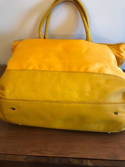 Tory Burch Extra Large Travel Work Value Tote in Yellow Image 6