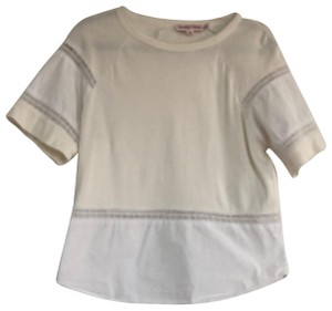 See by Chloé T Shirt white and cream
