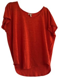 Joie T Shirt Red