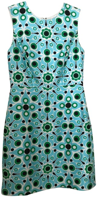 Preload https://img-static.tradesy.com/item/26030977/kate-spade-turquoise-sheath-mid-length-workoffice-dress-size-4-s-0-2-650-650.jpg