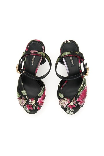 Dolce&Gabbana Cr0801 Ak835 8b015 Multicolored Sandals Image 1