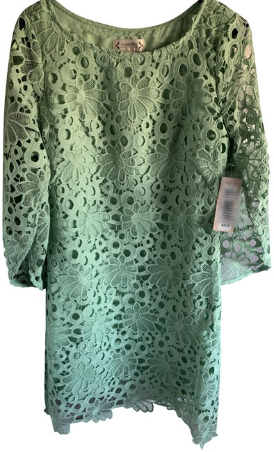Preload https://img-static.tradesy.com/item/26031020/nanette-lepore-mint-green-mid-length-formal-dress-size-2-xs-0-3-650-650.jpg