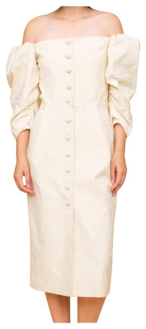 Preload https://img-static.tradesy.com/item/26031033/sea-cream-new-york-puff-sleeve-pencil-mid-length-casual-maxi-dress-size-2-xs-0-2-650-650.jpg