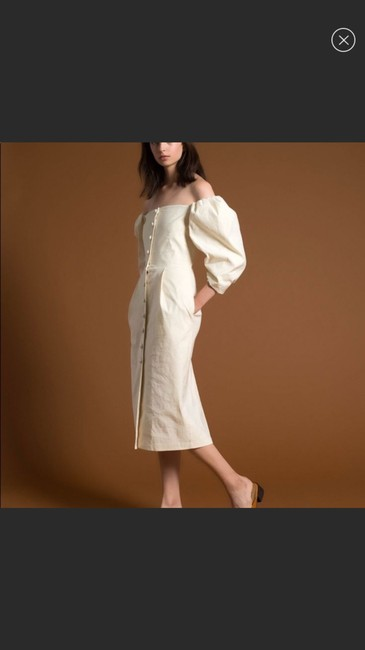 Cream Maxi Dress by Sea Image 1