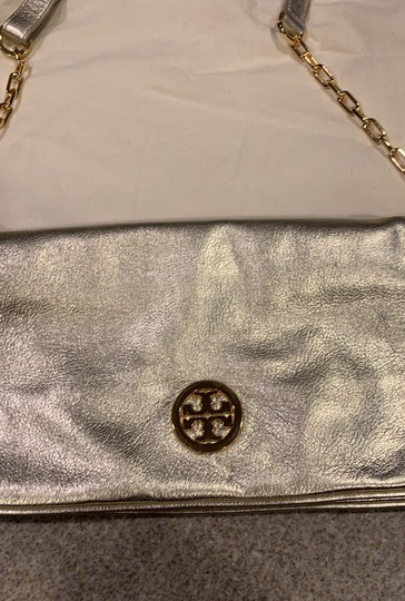 Tory Burch gold Clutch Image 1