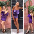 Zara short dress Purle on Tradesy Image 0