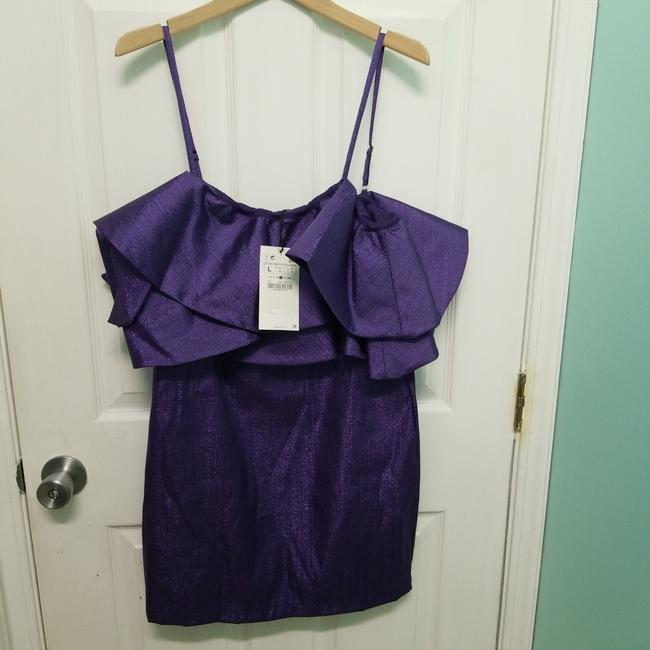 Zara short dress Purle on Tradesy Image 2