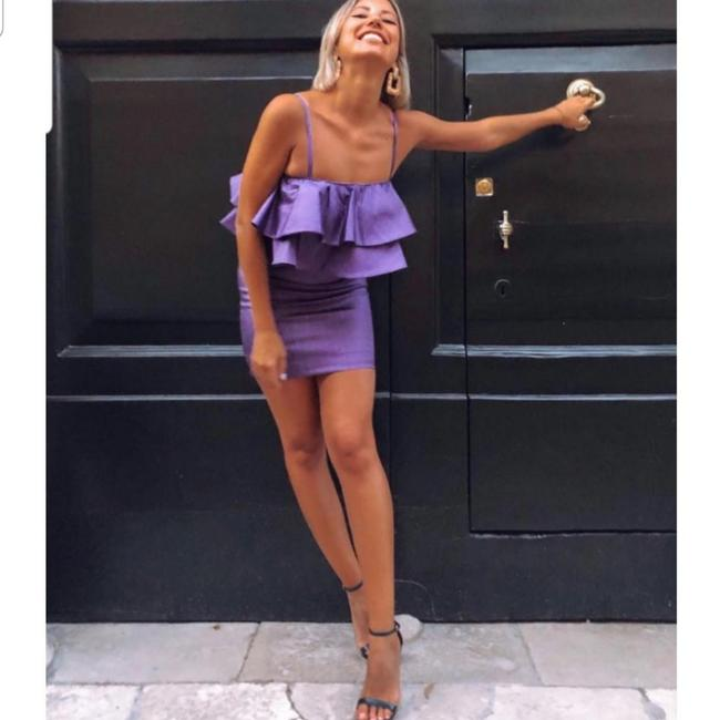 Zara short dress Purle on Tradesy Image 5