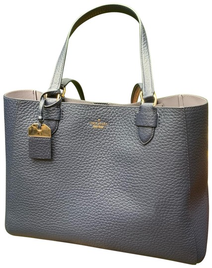Preload https://img-static.tradesy.com/item/26031146/kate-spade-snap-closure-navy-blueicy-blue-sky-pebbled-leather-tote-0-2-540-540.jpg