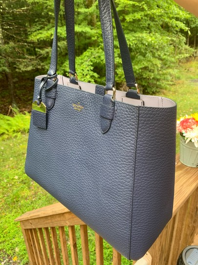 Kate Spade Tote in Navy blue/Icy blue sky Image 4