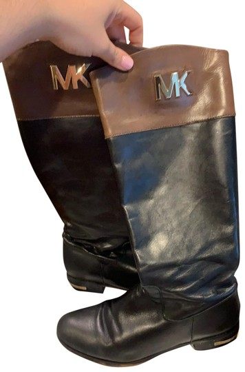 Preload https://img-static.tradesy.com/item/26031177/michael-michael-kors-black-and-brown-leather-bootsbooties-size-us-11-regular-m-b-0-2-540-540.jpg