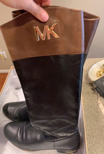 MICHAEL Michael Kors black and brown Boots Image 4