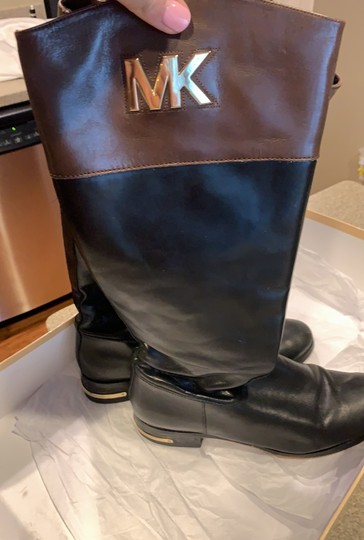 MICHAEL Michael Kors black and brown Boots Image 5
