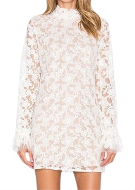 Preload https://img-static.tradesy.com/item/26031183/alexis-white-lace-mini-short-cocktail-dress-size-8-m-0-1-650-650.jpg