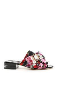 Dolce&Gabbana Cr0749 Az718 Hnw86 Multicolored Mules