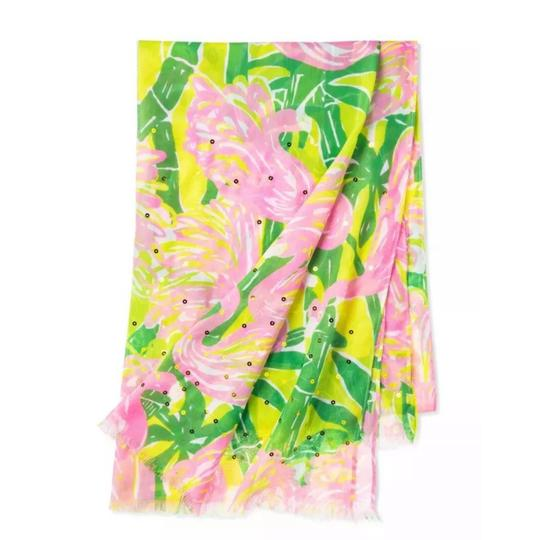 Lilly Pulitzer Fan Dance Sequined Scarf Image 1