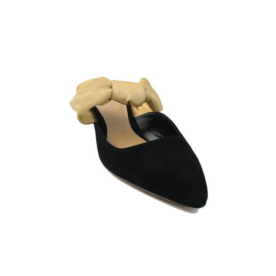 The Row Black Sahara Mules Image 0