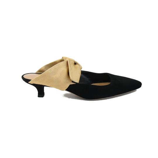 The Row Black Sahara Mules Image 1