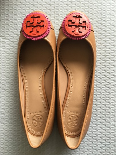 Tory Burch Tan Flats Image 7
