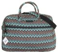 Vera Bradley Carry On Sierra Stream Travel Bag Image 0