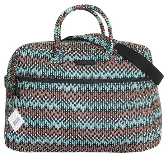 Preload https://img-static.tradesy.com/item/26031332/vera-bradley-grand-in-sierra-stream-cotton-weekendtravel-bag-0-2-540-540.jpg