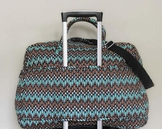 Vera Bradley Carry On Sierra Stream Travel Bag Image 1