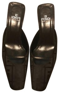 Fendi black Mules