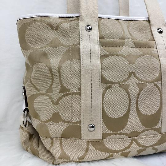 Coach Tote in Tan Image 1