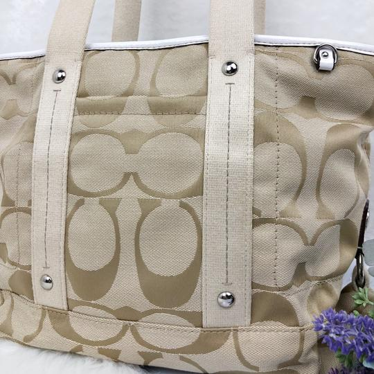 Coach Tote in Tan Image 3