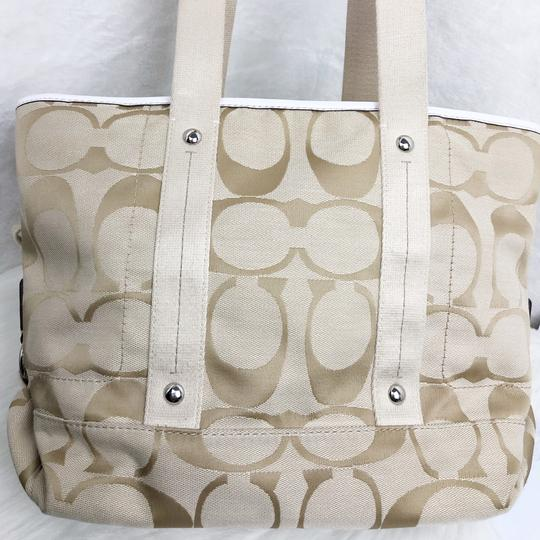 Coach Tote in Tan Image 5