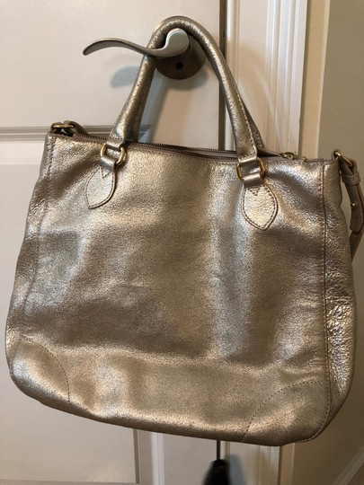 J.Crew Tote in gold Image 1