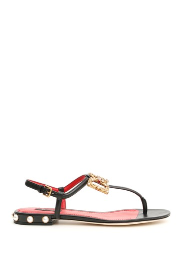 Preload https://img-static.tradesy.com/item/26031505/dolce-and-gabbana-black-dolce-and-gabbana-with-logo-buckle-sandals-size-eu-36-approx-us-6-regular-m-0-0-540-540.jpg