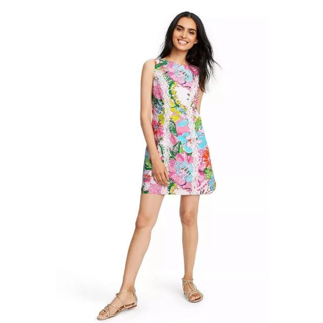 Preload https://img-static.tradesy.com/item/26031519/lilly-pulitzer-for-target-nosey-posie-sleeveless-round-neck-shift-mini-short-casual-dress-size-16-xl-0-0-650-650.jpg