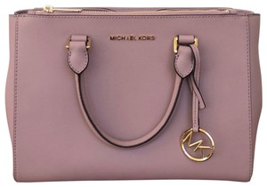MICHAEL Michael Kors Satchel in pale pink / nude