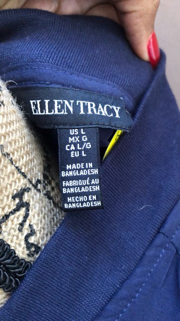 Ellen Tracy blue Jacket Image 5