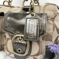 Coach Satchel in Brown Image 3