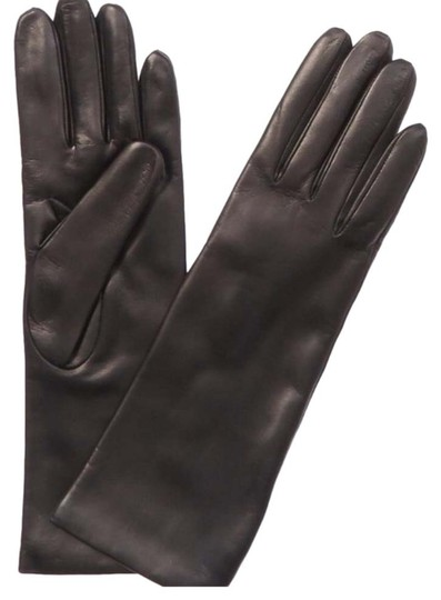 Preload https://item4.tradesy.com/images/portolano-black-leather-and-cashmere-mid-length-gloves--26031623-0-4.jpg?width=440&height=440
